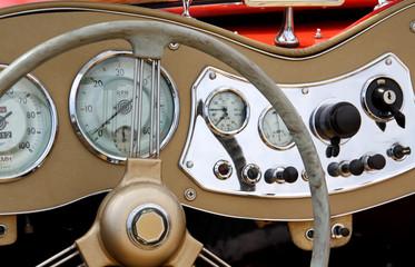 Cockpit Oldtimer