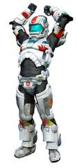 astronaut hero - victory