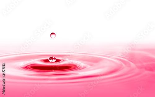Leinwandbild Motiv water drop splash