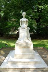 Merano, statua della Principessa Sissi