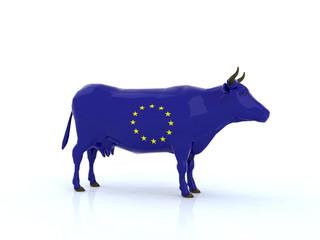 mucca europa