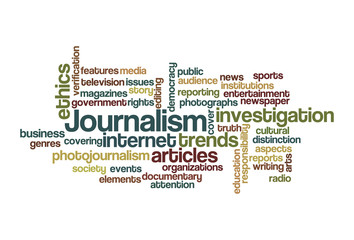 Journalism - Word Cloud