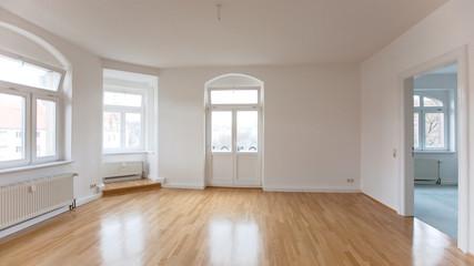 leerer Wohnraum in einer Loft