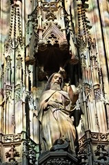 Statue of saint, Sephansdom Vienna