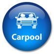 CARPOOL Web Button (car share go green scheme drive environment)