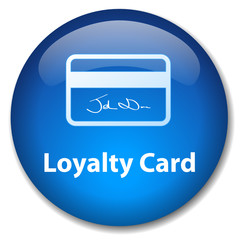 LOYALTY CARD Web Button (scheme shopping customer service sale)