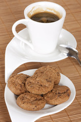 Cafe con galletas