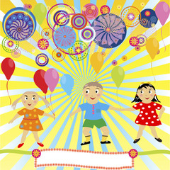 world of the children, kids fun party
