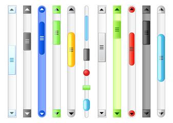 Scroll bar.