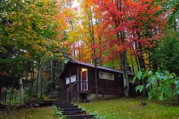 アメリカ バーモント州の紅葉