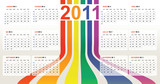 calendrier gamer gay 2011 arc en ciel