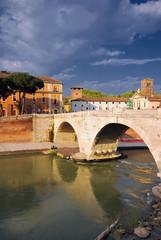 Puente Palatino,Roma.Italia