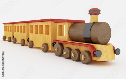 Trenino in legno di destiny114 foto stock royalty free 24997302 su - Trenino di legno ikea ...
