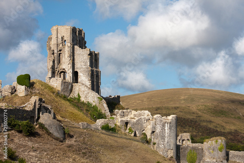 Corfe Castle in Südengland