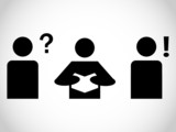 Pictogram of the people poster