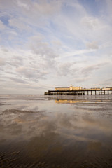 Hastings Pier at Sunrise