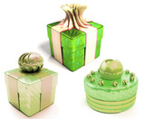 set of three  gift boxes