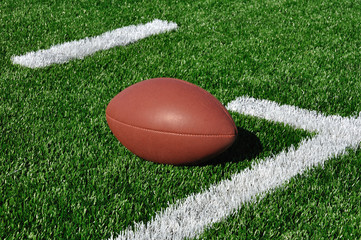 American Football on Artificial Turf
