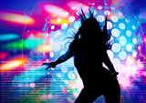 Fototapety dancing silhouettes 6