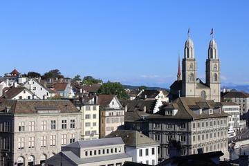 Zürich Altstadt Grossmünster
