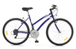 Cool Bicycle over white  background