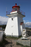 Lighthouse at Cape Enrage poster