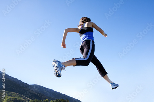 Running & Jogging low angle