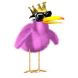 3d Royal birdy