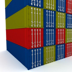 Closed cargo containers