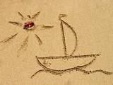 Fototapeta plaża - piękny - Relaks