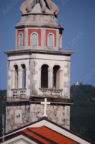 Bell tower in Crni kal