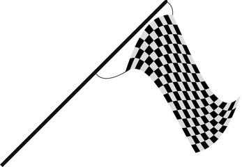 Zielflagge Start - Ziel
