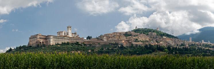 panorama di Assisi - Umbria