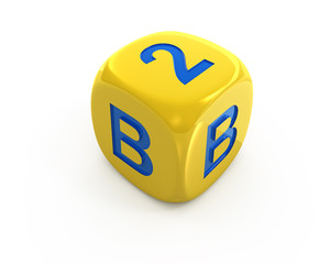 Business to Business dice