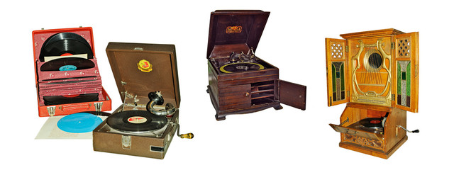 Retro phonographs