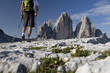 Leinwandbild Motiv Wander um die Drei Zinnen Sextner Dolomiten Welt Naturerbe