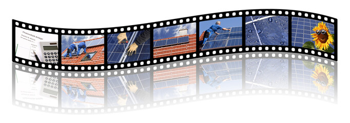Filmstrip, solar bidding and installation