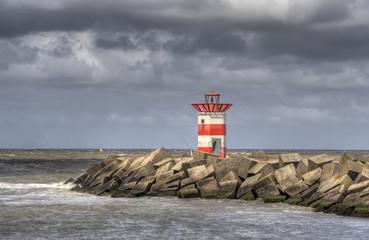 Lighthouse Scheveningen, Holland