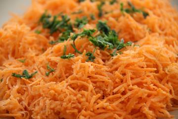 Salade de carottes rapées