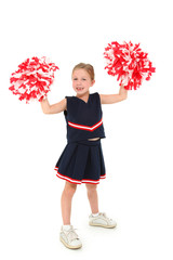 Adorable Cheerleader