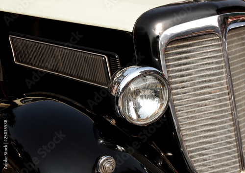 antique car detail