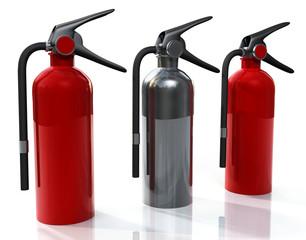 Three Extinguisher