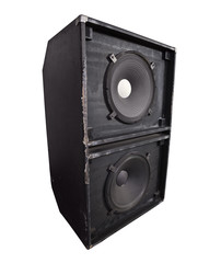 Giant Thrashed Bass Speaker Cabinet