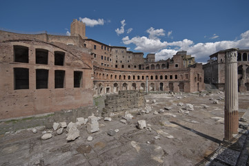 Roma, i mercati di Traiano