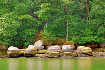 rochers de pont-aven