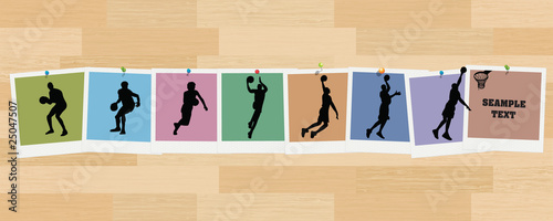 Basketball Sequence Snapshots