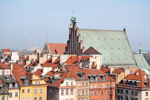 Old town with Cathedral in Warsaw. World Heritage List. © Marcin Chodorowski