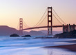 San Francisco's Golden Gate Bridge at Dusk - 25052576