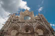 Facade of Cathedral in Siena