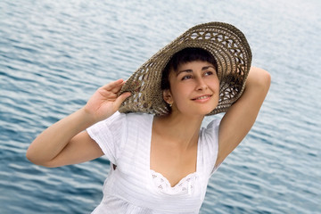 Pretty girl in the bonnet